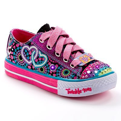 skechers twinkle toes for girls