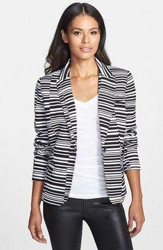 Calvin Klein Stripe One Button Jacket auf shopstyle.de