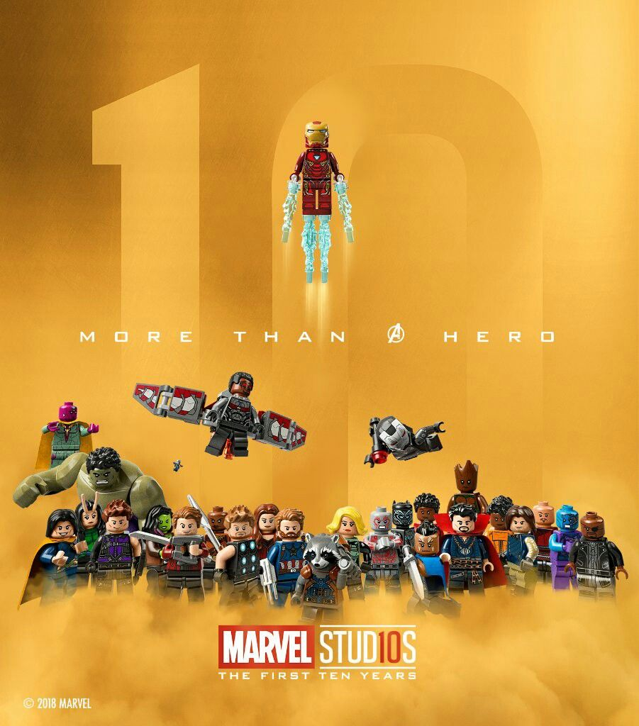 Marvel Studios: Marvel Studios. The Avengers The First 10 Years All Lego