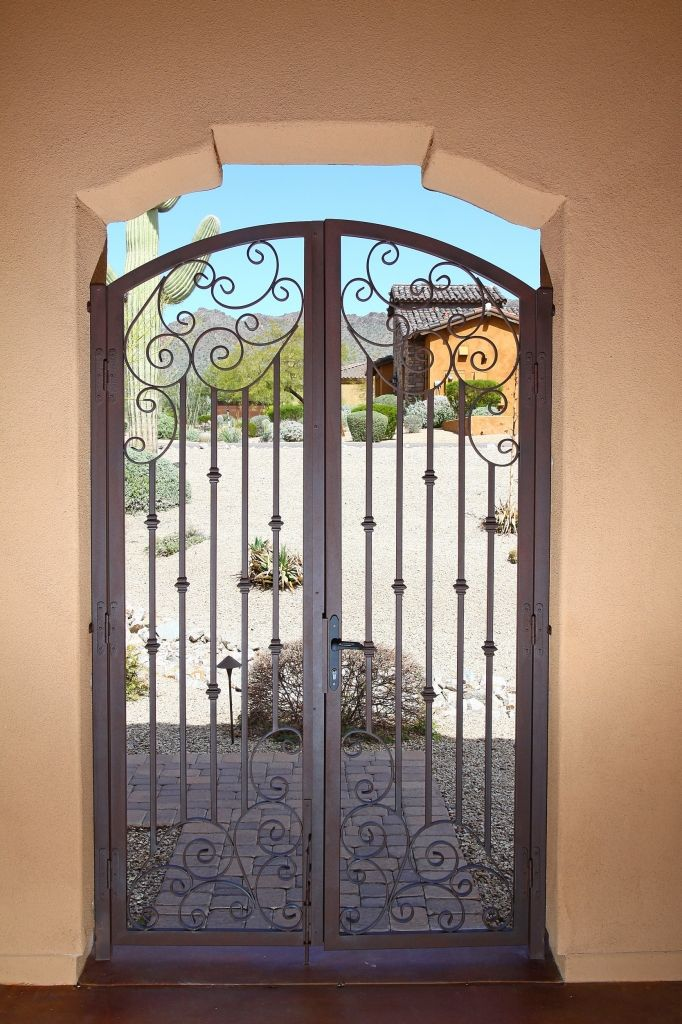Outdoor Entryway Gate By First Impression Security Door