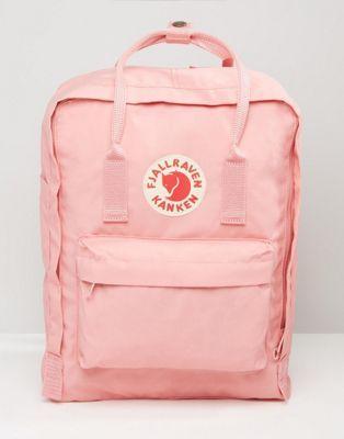 Fjallraven Kanken Sac A Dos Classique Rose Pastel Asos Pink Backpack Bags Kanken