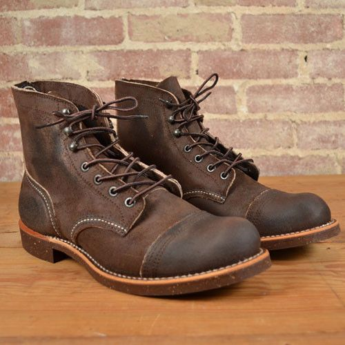 dee3a6f49275 RED WING IRON RANGER STYLE 4590