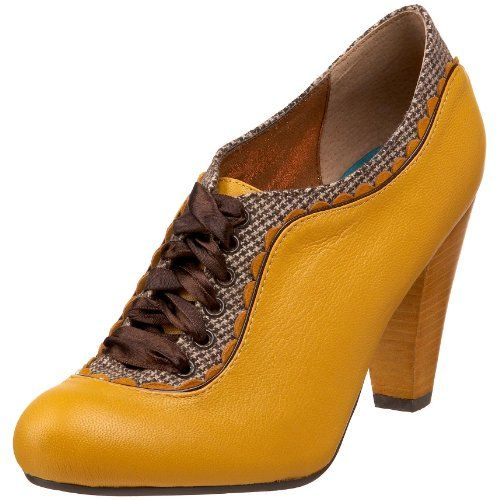 Poetic Licence Women's Backlash Bootie, Yellow - MUST have these beautiful shoes!
