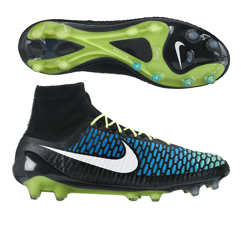 Change the game with the Nike Magista Obra FG Soccer Cleats (Black/Blue  Lagoon