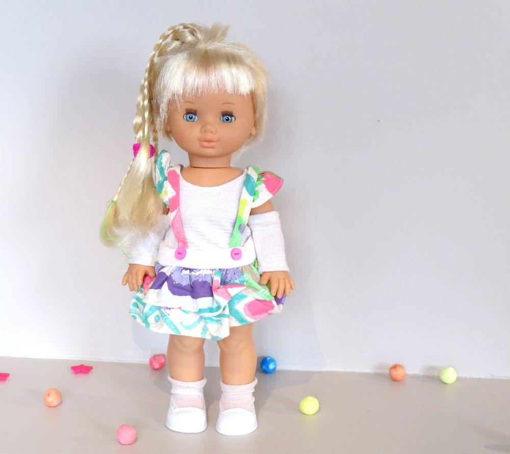 Poupée Jesmar Vintage, belle poupée aux cheveux qui
