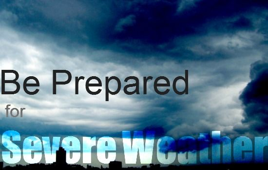 Getting Organized for Severe Weather on http://blog.aboutone.com