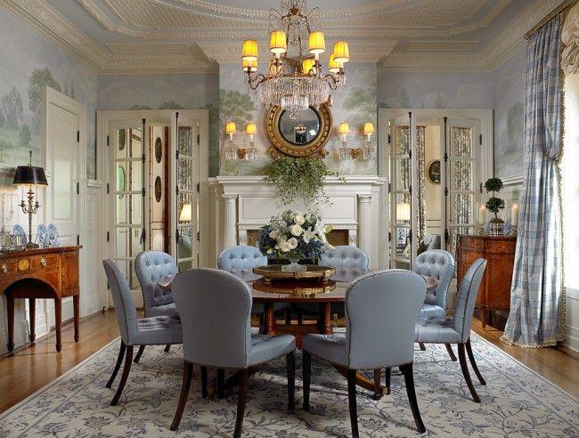 Merveilleux Traditional Dining Room  Scott Snyder Montclair Sargent Interiors  Photography