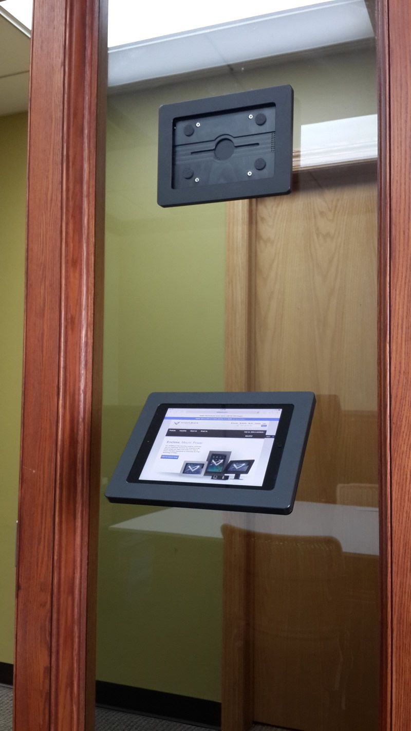 Ipad bathroom wall mount - Have A Glass Wall Or Surface And Need An Ipad Android Or Windows