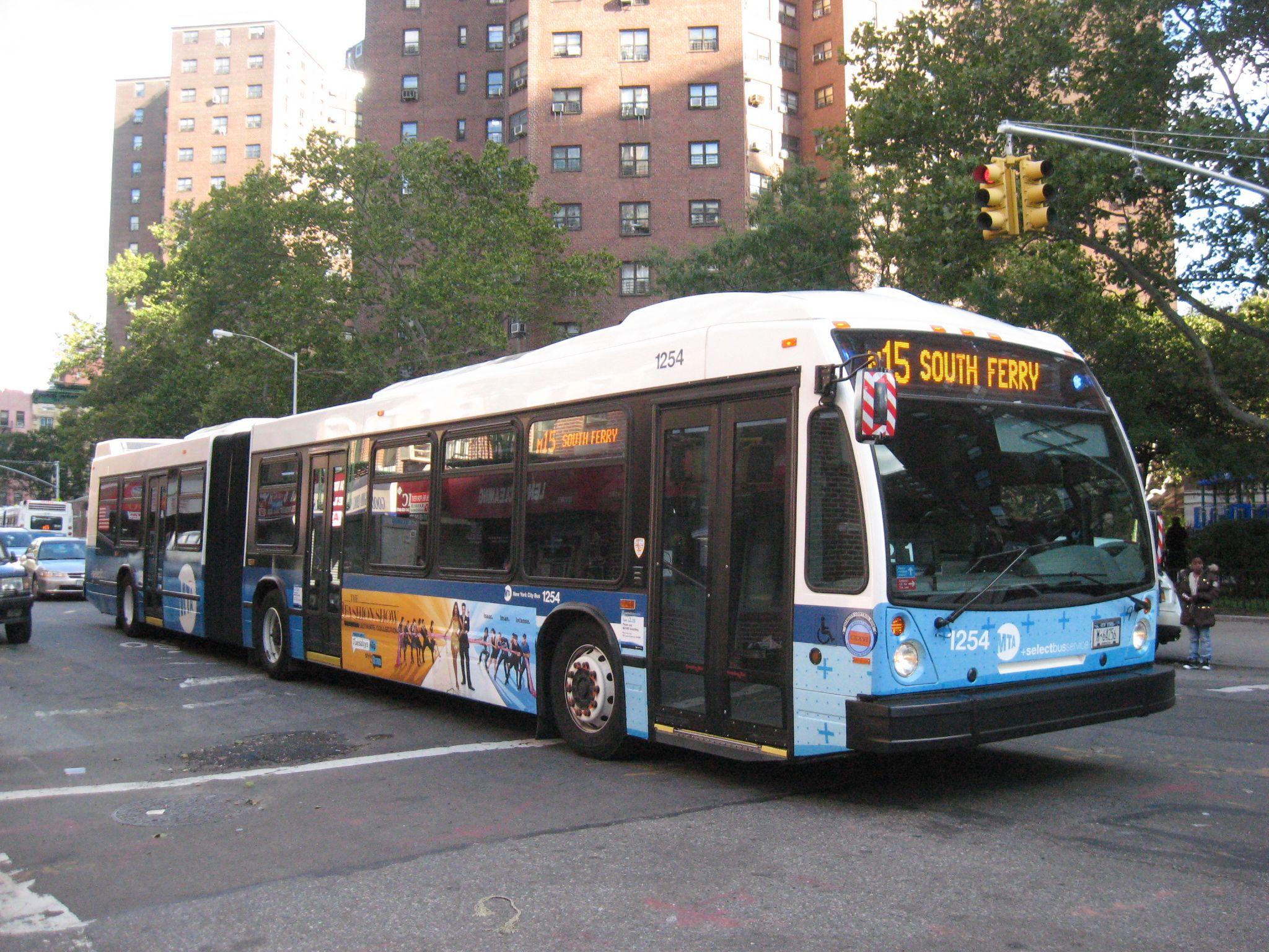 new york mta 2012 nova bus lfs artic low floor 5919 busses