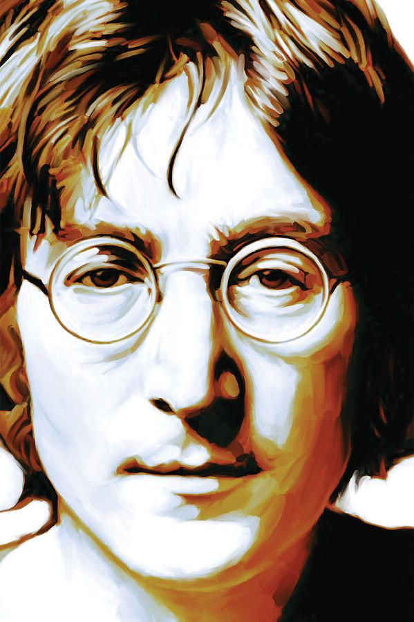 John Lennon Artwork By Sheraz A In 2020 Beatles Art Beatles Artwork Musician Art