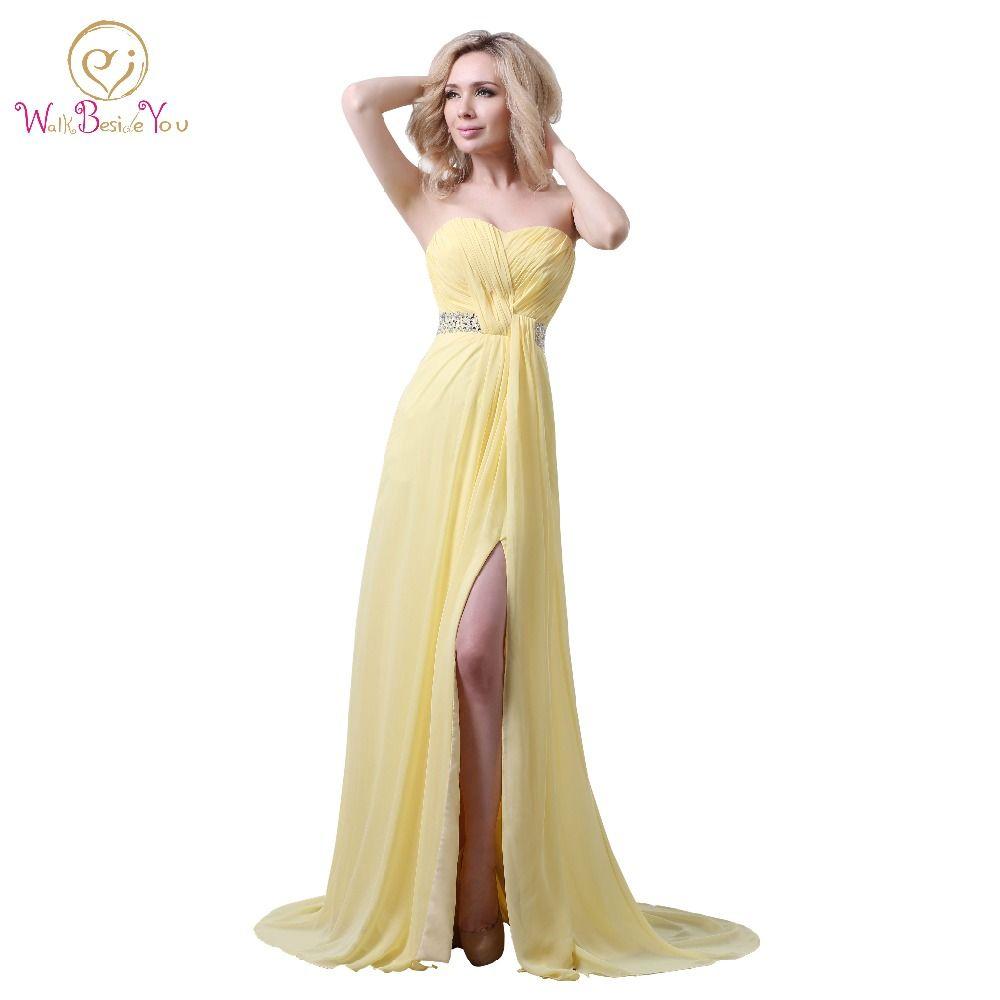 a line strapless floor length chiffon prom dress sweetheart
