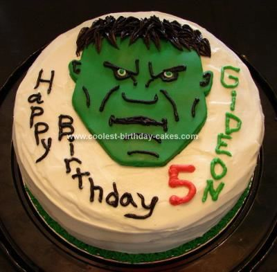 Coolest Incredible Hulk Cake Hulk cakes Lime cake recipe and