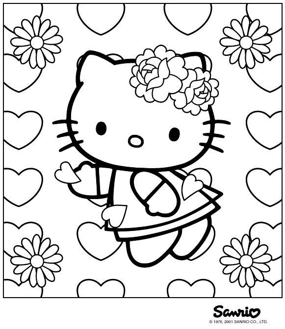 Free Printable Coloring Sheets Valentines Day