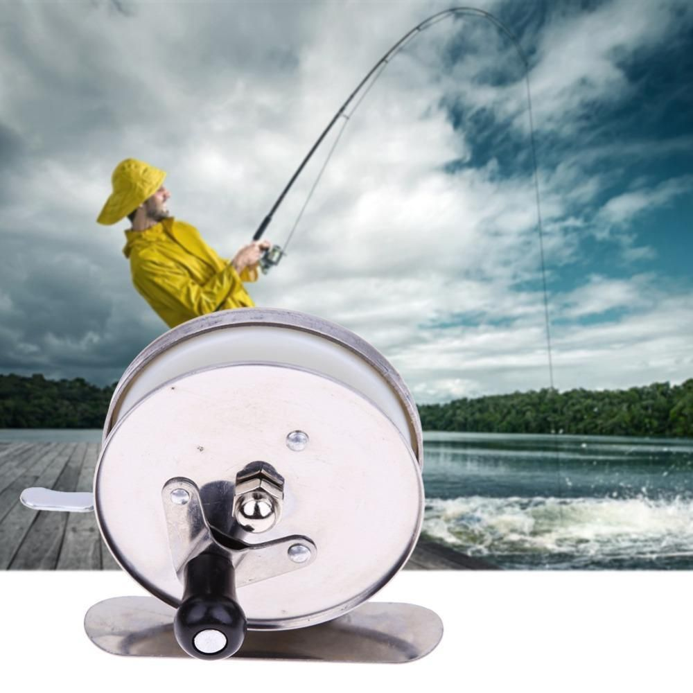 Bearing Ball Spinning Sea Fishing Reel Ice Fly Fishing Reel with 50M Line Roller