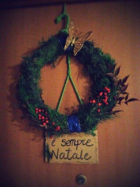Photo of Ghirlanda natalizia fai-da-te per esterni