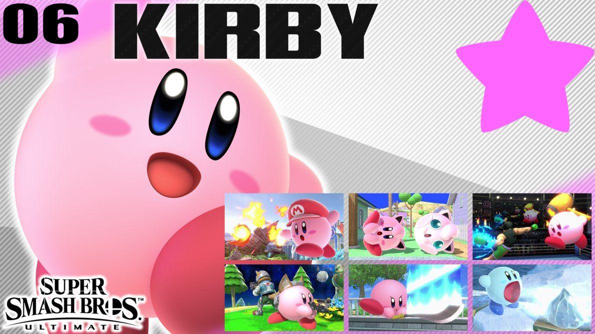 SSBU Wallpaper - 06 - Kirby by UMSAuthorLava