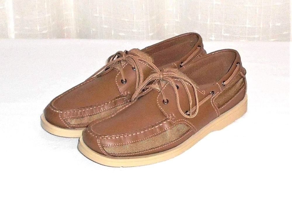 Eddie Bauer Womens Brown Nubuck Suede Leather Lace Up Lined Work Oxfords Sz 11M