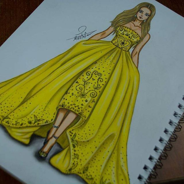 Pin By Laylay Charles On Drawing Fashion Sketches Dresses Dress Sketches Fashion Design Drawings