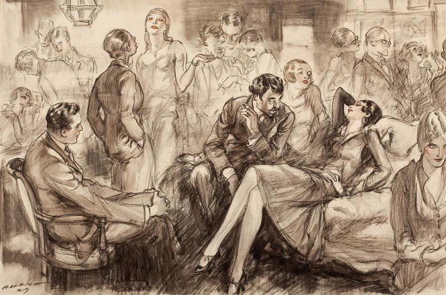 아기용의 잡동사니 블로그   Henry Patrick Raleigh의 작품들 (화가)