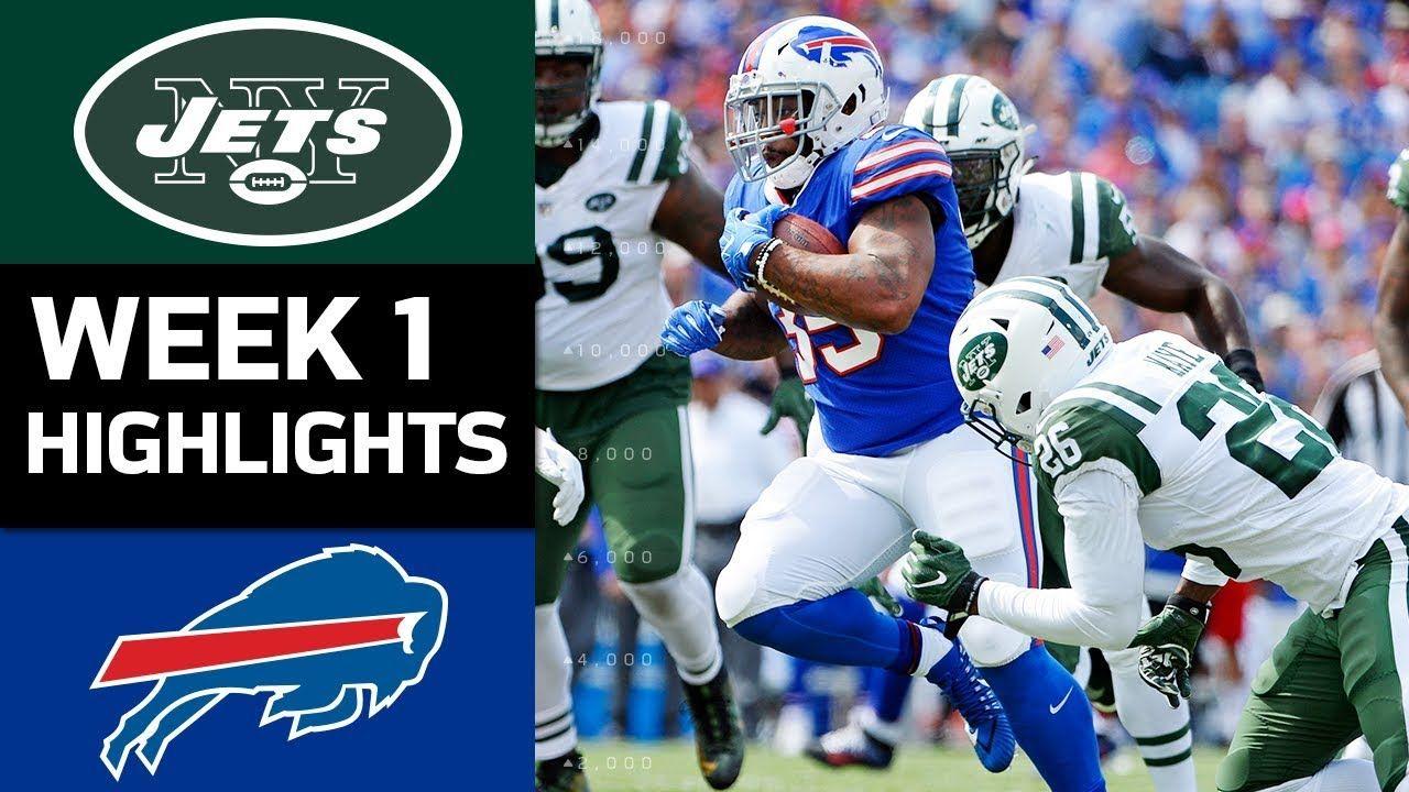 Jets vs. Bills NFL Week 1 Game Highlights Nfl week