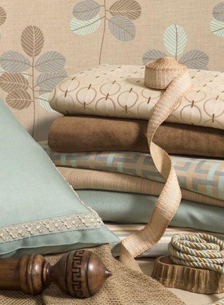 Outdoor Fabrics Lanai Fabric Collection Image Calicocorners Aqua Neutral Tones