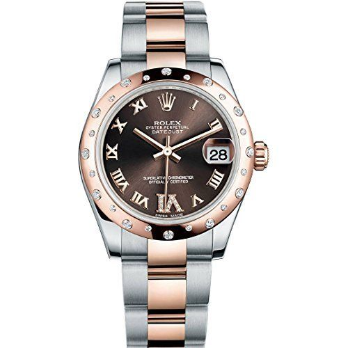 ROLEX DATEJUST 31MM STEEL AND ROSE GOLD WATCH WITH 24 DIA... https://www.amazon.com/dp/B00TQ7DY4W/ref=cm_sw_r_pi_dp_x_aN06xbERJQ5HK