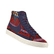 the latest da79a d1a11 NIKEiD. Custom Nike Blazer Mid Premium Pendleton iD Shoe | Swoosh ...