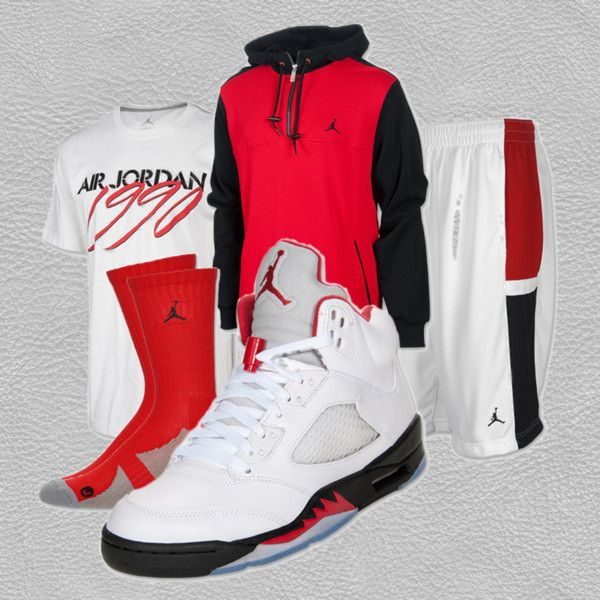 U0026quot;Air Jordan Retro 5u0026quot; by finishline on Polyvore guy that dress like this | Dream future ...