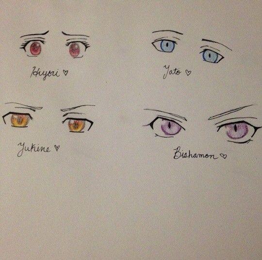 anime eyes hiyori yato yukine bishamom noragami is starting to