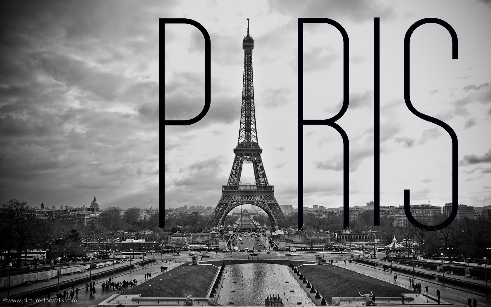 Black And White Paris Wallpapers For Android For Desktop Wallpaper