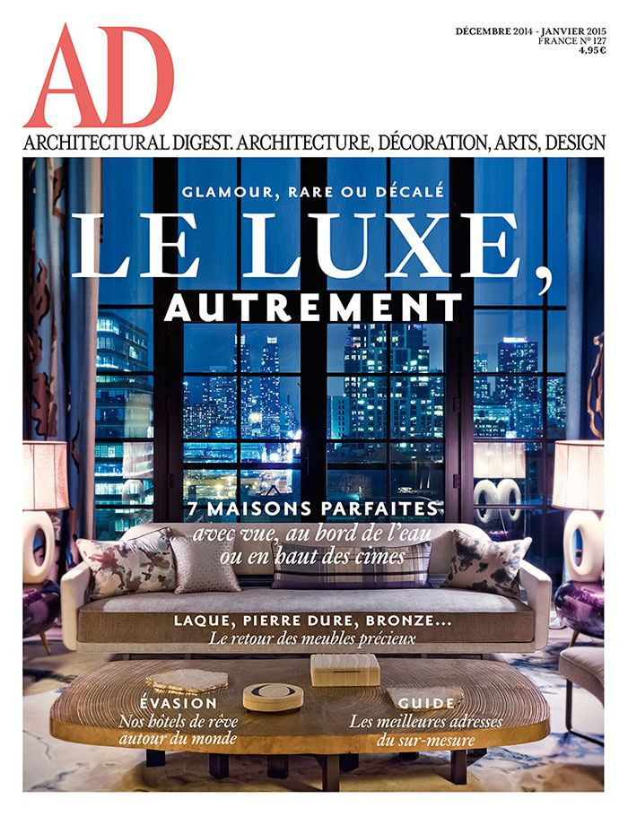 Buy A Subscription Of Architectural Digest France Magazine From The Worldu0027s  Largest Online Magazine Cafe Store In USA.