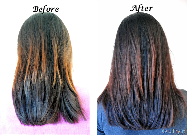 Before And After Homemade Hot Oil Hair Treatment Http Utry It Coconut
