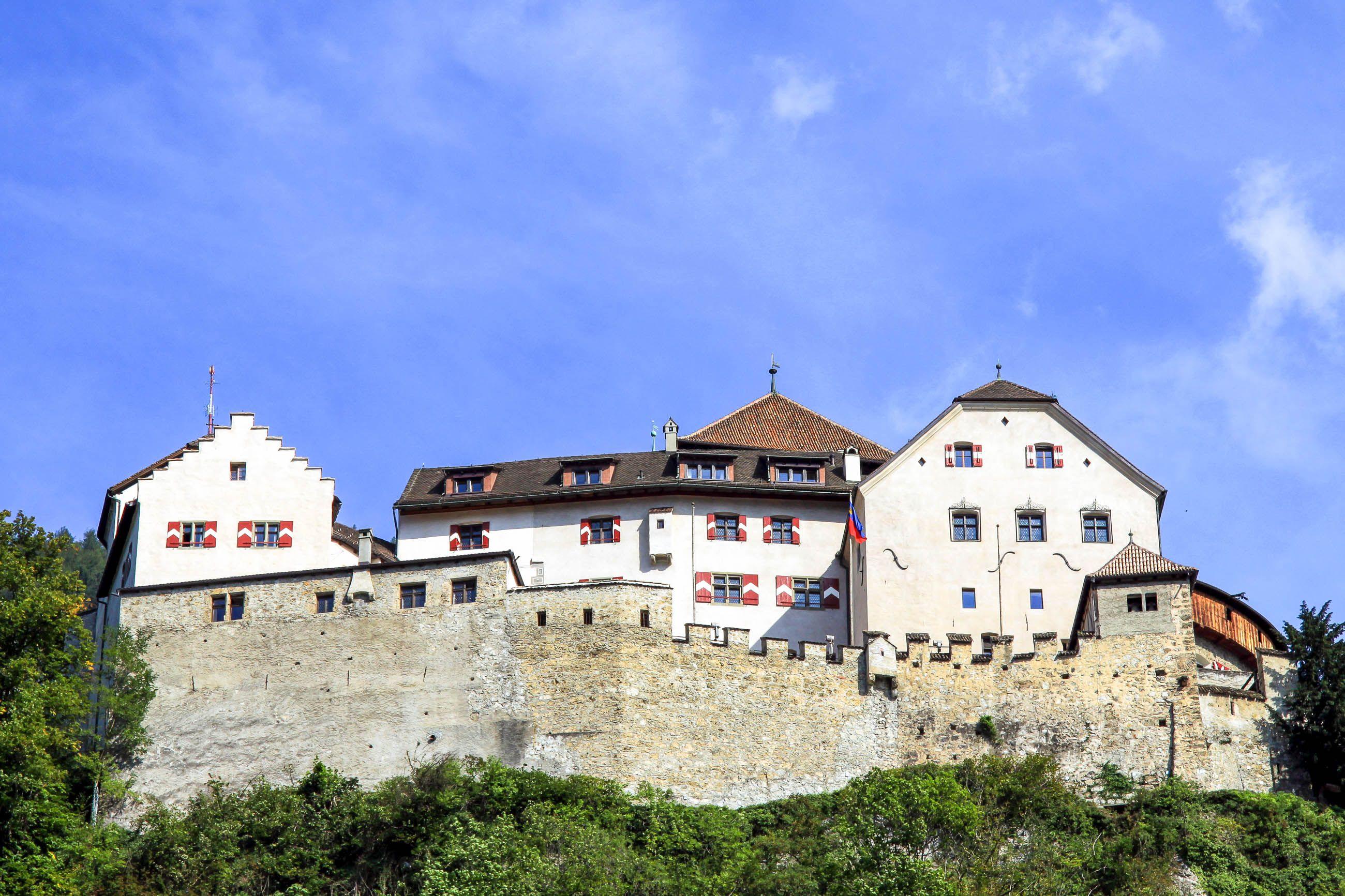 Schloss Vaduz Nachhaltiger Tourismus Liechtenstein Nachhaltiger Tourismus Tourismus Schloss