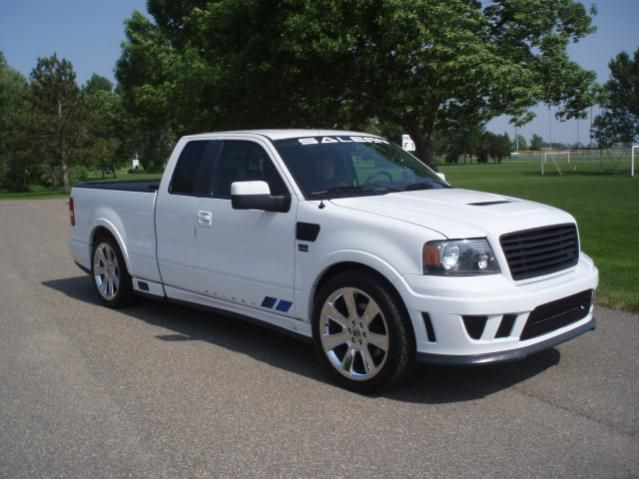 2007 Saleen S331 Ford F 150 Supercharged 67 Low Miles Ford F150