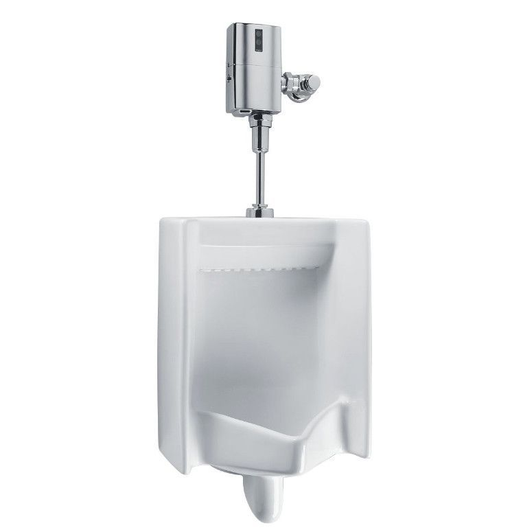 Toto Ut447e 01 Ut447e Cotton White Commercial Washout High Efficiency Urinal 0 5 Gpf Ada Cotton White Ada Restroom