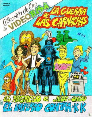 """Comics Mexicanos de Jediskater: Videorisa Coleccion de Oro No. 4, """"La Guerra de la..."""