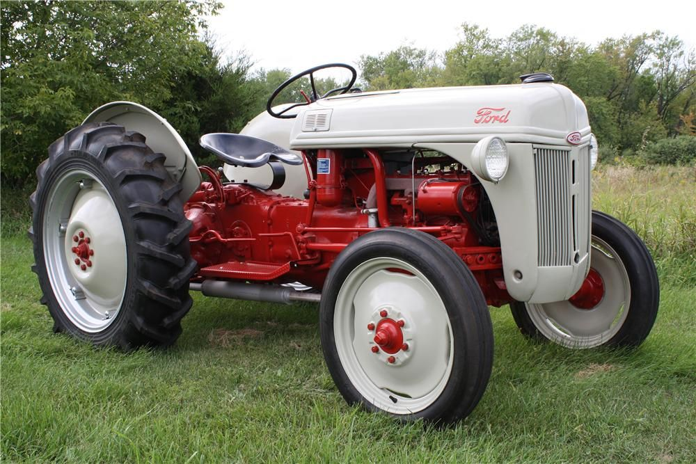 1953 Ford 8N - N Tractor Barrett Jackson Auction Company Worlds - 1953 Ford 8N