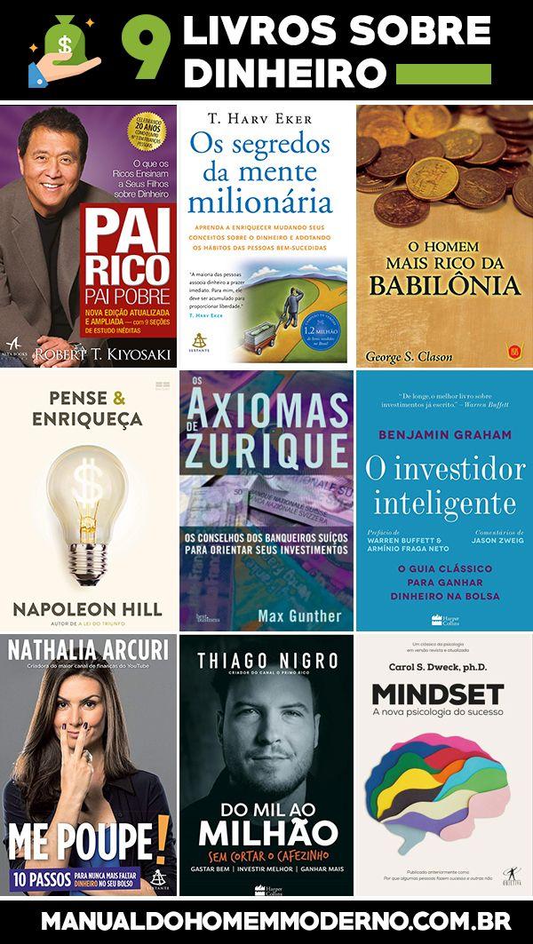 9 livros sobre dinheiro