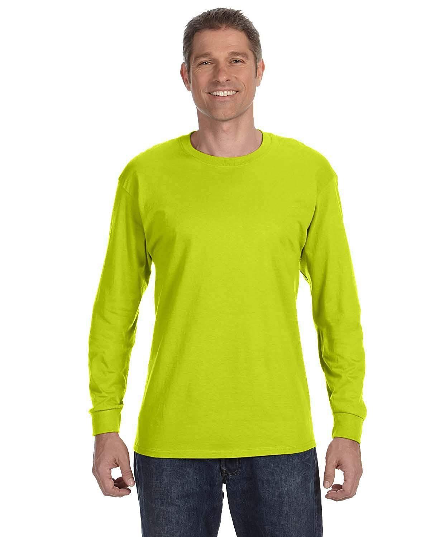 805dd31e7 Gildan Heavy Cotton 100% Cotton Long Sleeve T-Shirt in 2019 ...