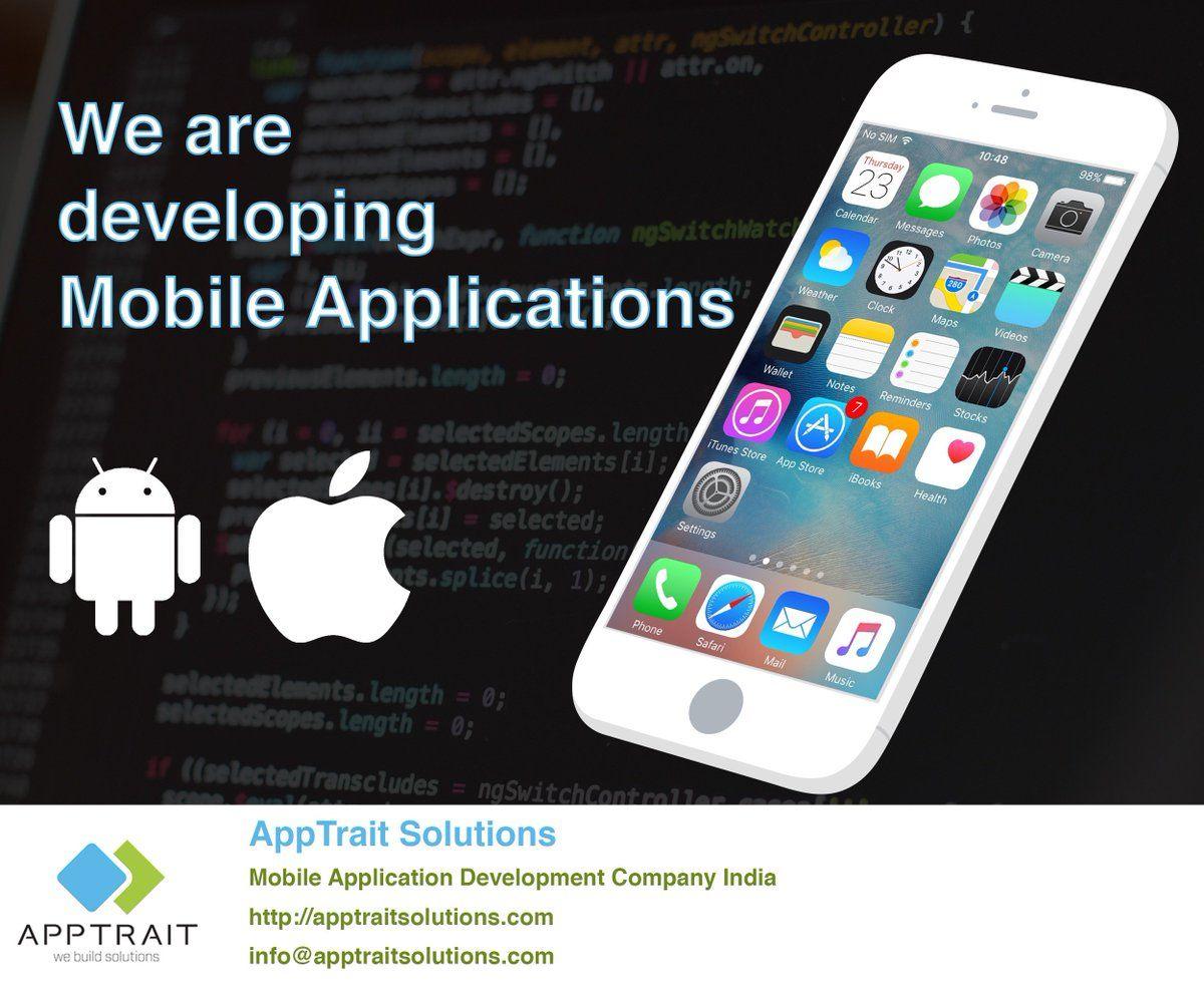 AppTrait Solutions is top mobile apps development company