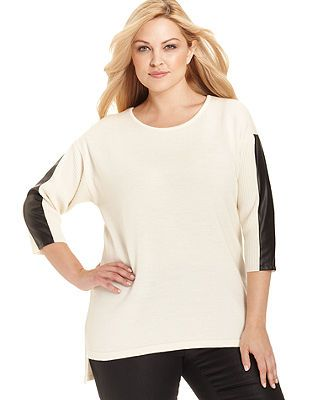 c1d54dc1407 Calvin Klein Plus Size Sweater