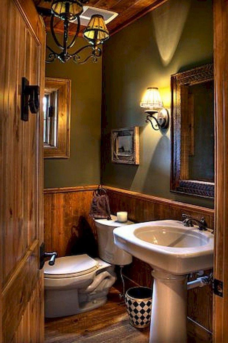 38 Adorable Rustic Bathroom Remodel Ideas Rustic Bathroomremodeling Remodelingideas Small Rustic Bathrooms Rustic Bathrooms Cabin Bathrooms
