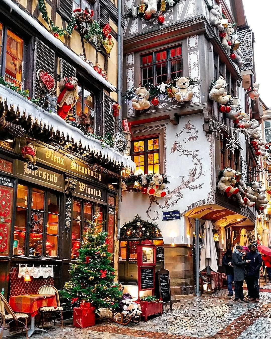 Strasbourg, France Christmas aesthetic, Christmas