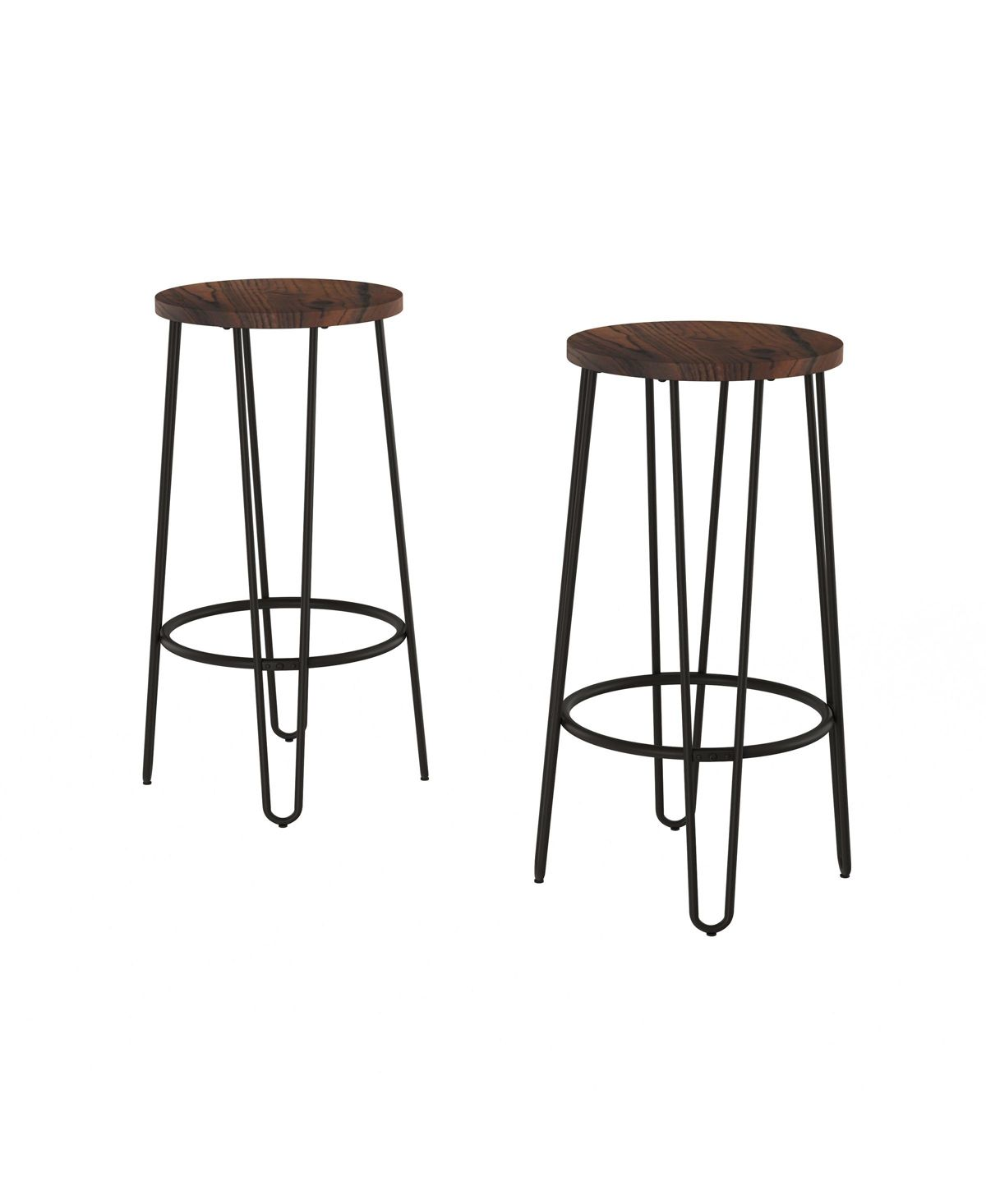Trademark Global Lavish Home Bar Stool Set Of 2 Reviews