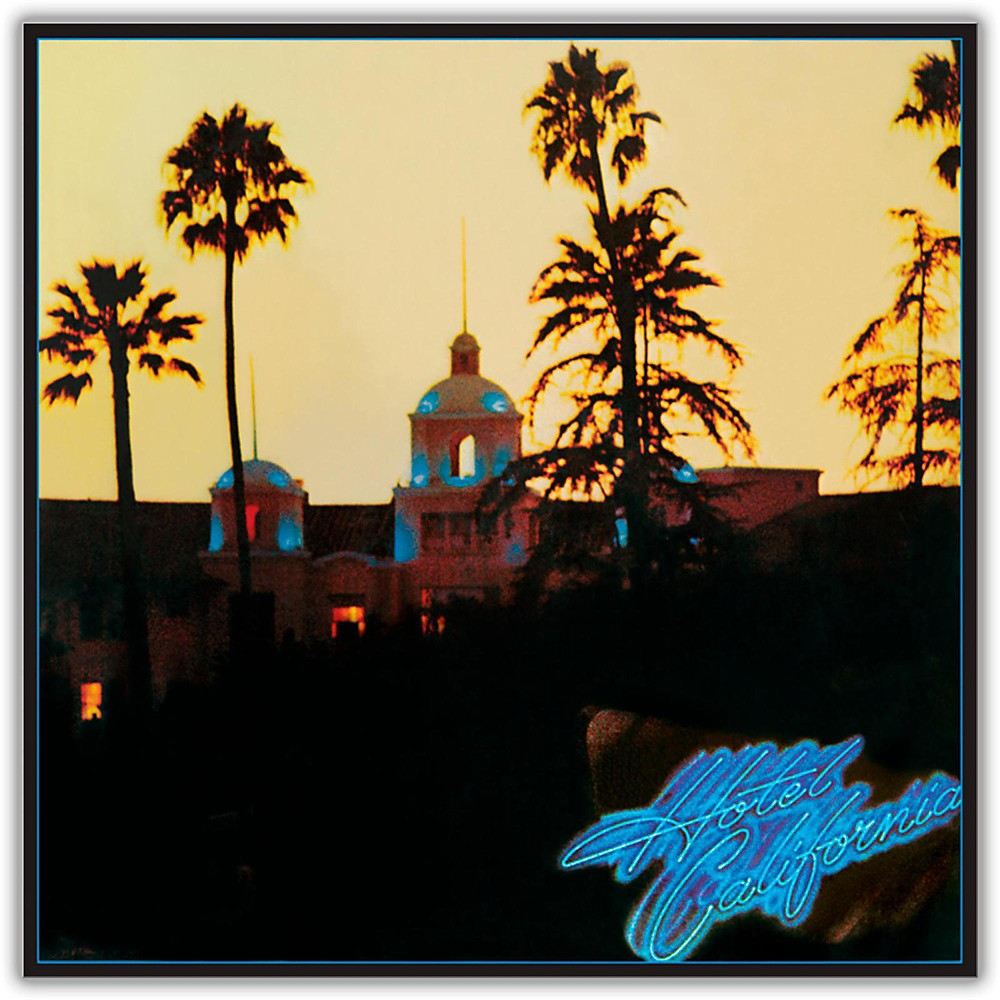 eagles hotel california vinyl lp eagles hotel california hotel california eagles albums. Black Bedroom Furniture Sets. Home Design Ideas