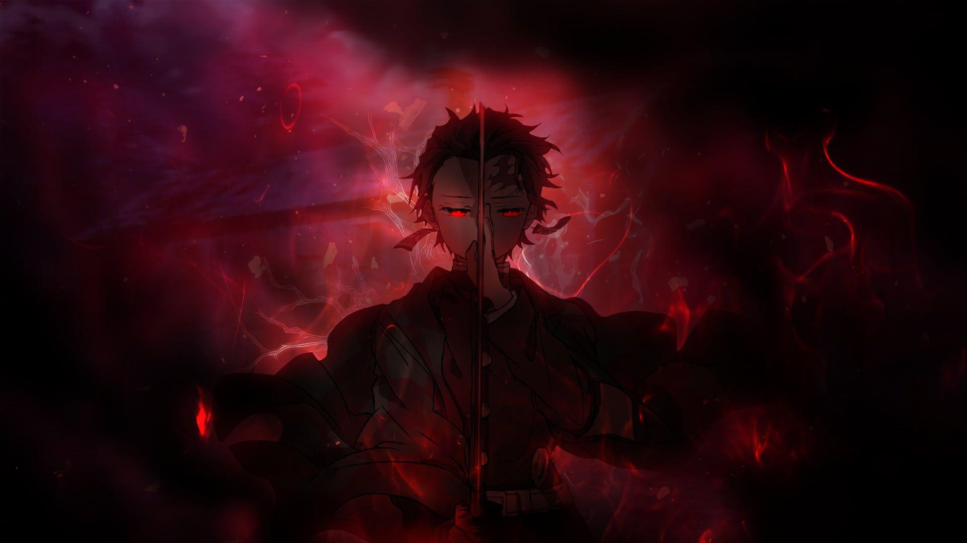 Anime Demon Slayer Kimetsu No Yaiba Tanjirou Kamado 1080p Wallpaper Hdwallpaper Deskt Anime Wallpaper Download Hd Anime Wallpapers Cool Anime Backgrounds