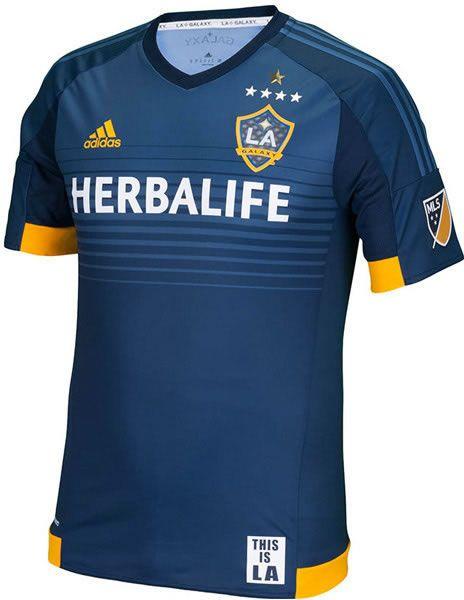 509c8fa1f6c LA Galaxy 2015 adidas Away Kit | Gaming Jersey | Soccer shirts ...