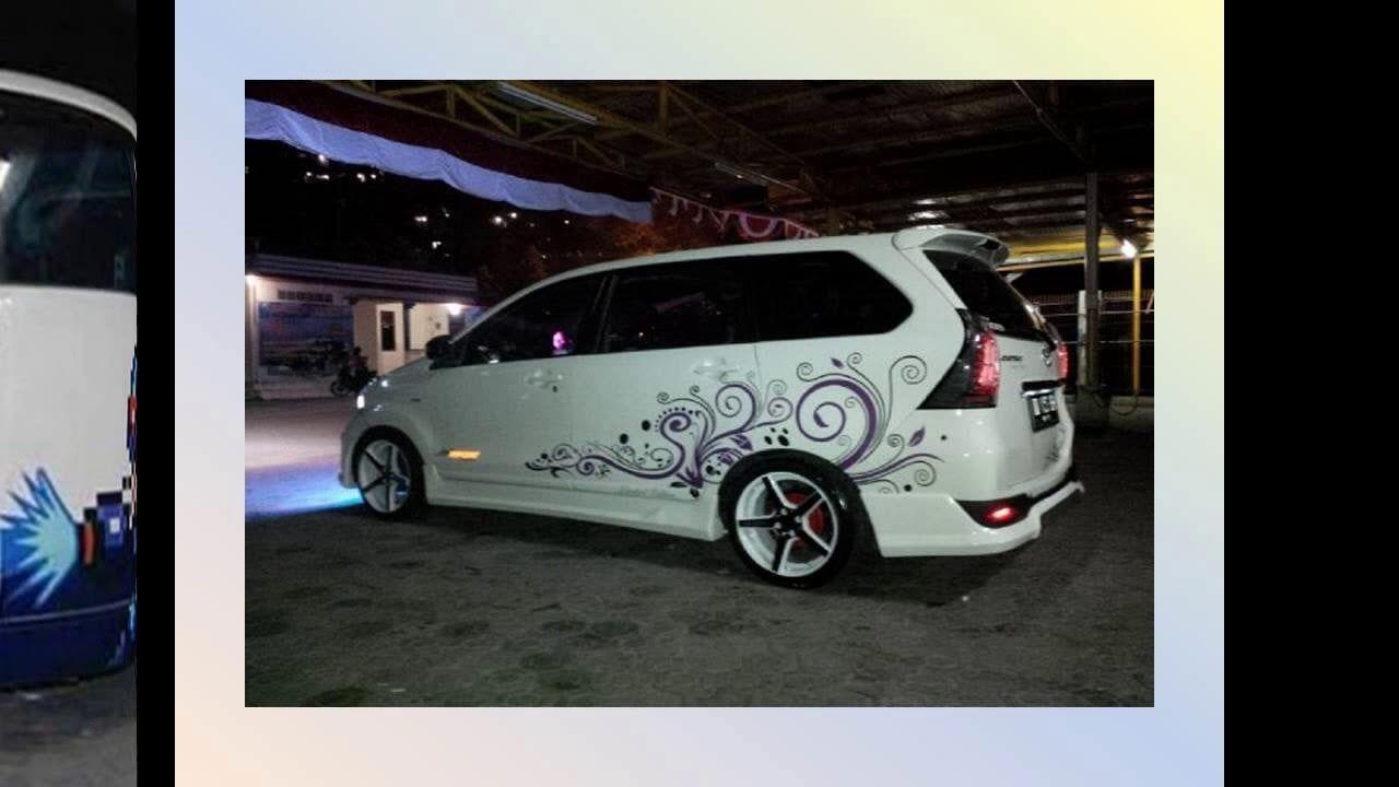 Modifikasi Mobil Avanza Veloz Putih Modifikasi Mobil Mobil Toyota