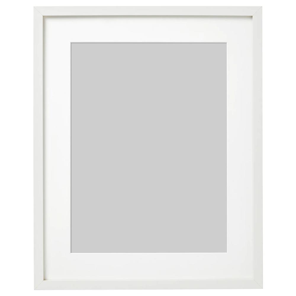 RIBBA Marco, blanco, 40x50 cm IKEA in 2020 Ribba frame