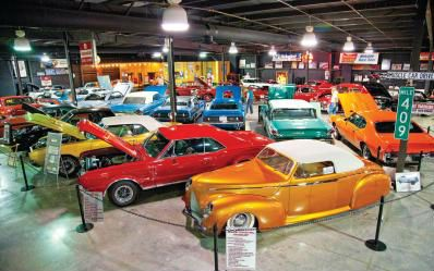 Smoky Mountain Attractions Attractions In Pigeon Forge Gatlinburg And Sevierville Tn Car Museum Muscle Car Museum Ford Galaxie